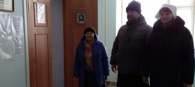 Знакомство с деятельностью сестер милосердия в п.Октябрьское